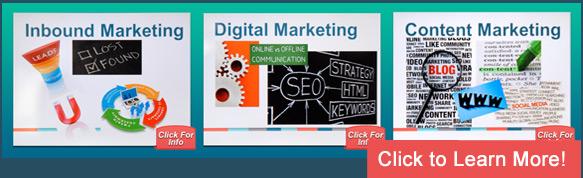 Get Found Online with Inbound Marketing, Digital Marketing and Content Marketing
